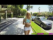 Smoking hot petite teen Halle