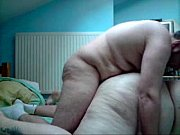 chubby bbw wife fucked by husband in front.