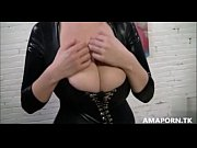 amazing blowjob for busty girl -.