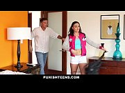 PunishTeens - Naughty Rachael Madori Gets Punished &amp_ Gagged By Stepfather