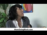 interracial milf porn - mommy rides black monster.