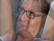 hot amateur milf sucks and fucks with cumshot.