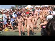 Danish Young Guys &amp_ Women Running Naked At Roskilde Festival 2010 (Denmark)