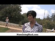 Hot Ssmoking mom getting her pussy explored by black 26