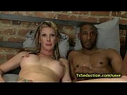 blond tranny fucks huge dicked black.