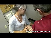 Mature handjob amateur tugging