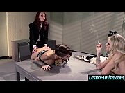 (jessa&amp_kayla&amp_kendra) lesbo girls in hard punish games on.