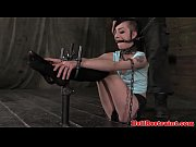 bit gagged bondage fetish sub tied.