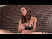 mm-Bitchy brunette dominant handjob
