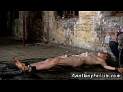 Nude urine mouth gay sex images Chained to the warehouse floor and