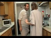 zgv brother and sister blowjob in the kitchen.