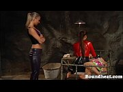 Beautiful drowsy slave awoken to beating and mistress training