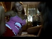 teen webcams playing with each other.