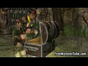 sexy 3d cartoon lara croft toying her wet pussyuinsofazeroth_episodeiv-high_1