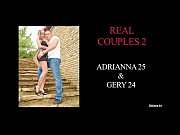 adrianna and gery real couple are caught on.