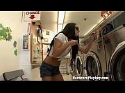 Amateur babe banged in the lau