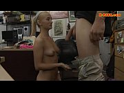blonde babe railed by horny pawn.