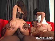 Two horny brunettes fucked hard by two big cocks SB-4-01