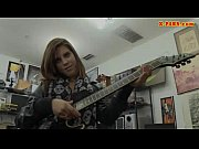 rocker chick pawns her guitar and.