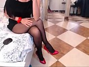 legs in pantyhose webcam show -.