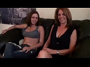 Mother &amp_ Daughter Footjob