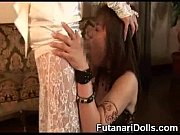Awesome Futanari Facial!