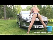 MonicaMilf in a dirty c...