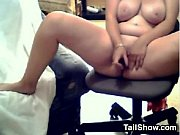 Fat Slut With Big Tits Masturbates Using Her Toy