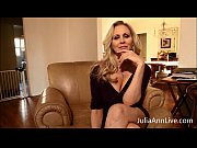 busty blonde milf julia ann fingers.