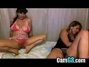 Webcam Lesbians suck, kiss &amp_ make out - camg8