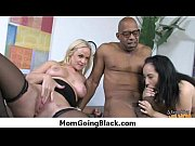 Mature MILF takes on big black cock 13