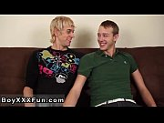 Gay porn Jay rims Alex&#039_s tight hole then barebacks his beau and keeps