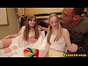 video bokep Tranny Trio With Tgirl Pussypounding