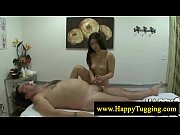 sweet asian masseuse loves wanking