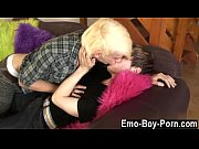Twinks XXX Blonde haired emo man Max Brown gives new fellow a good