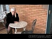 granny sucks boys cock for her birthday -.