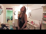 BTS Of Dani Daniels&#039_ First Anal Toy Play