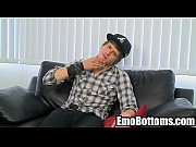 Emo twink Nick St. James tugs on his hard cock024_1