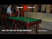 Hot bitch like to take huge cock on the pool table! XTIME.TV!