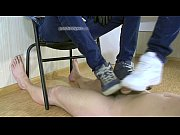 dick stomping leon mark and slave.