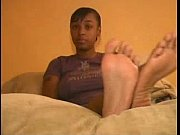 stinky ebony feet