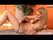 smoking hot blonde handjob