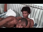 Two black gay dudes have fun sucking gay boys