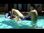 Straight best friend gay porn Ayden, Kayden &amp_ Shane - Pooltime