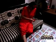 bigtits of amateur Indian housewife shilpa bhabhi in red sexy nighty
