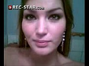 Phone vids of a hot girl - see her pics at Rec-star.com
