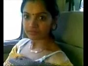 cute desi bhabhi show milky boobs in car.