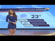 hot sexy weather girl