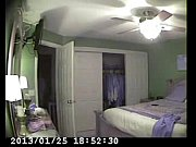 hidden cam in bed room of my mum.