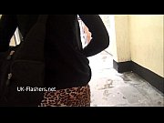 American exhibitionist Demona Dragons outdoor exposure and public flashing of da
